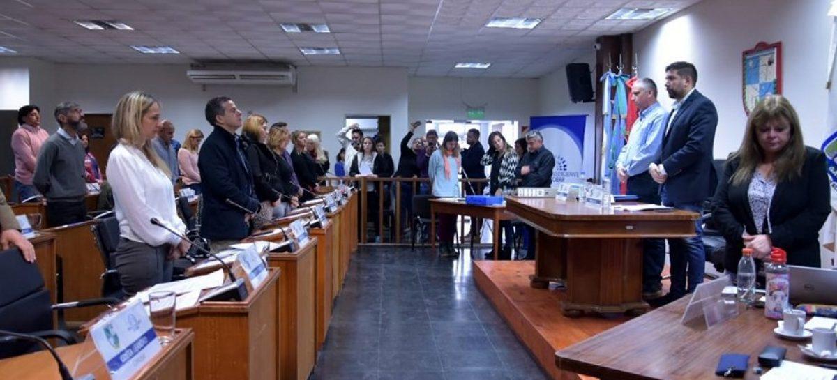 Presidida por el concejal Pablo Ramos, se llevó a cabo la Sexta Sesión Ordinaria del Concejo Deliberante de Escobar