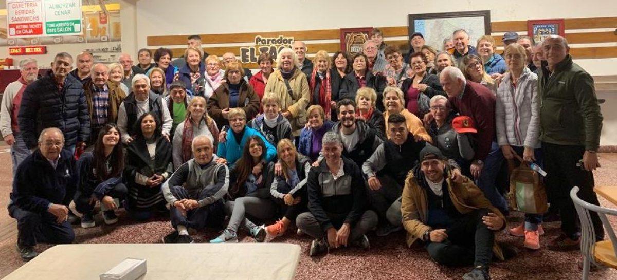 Los campeones de las Olimpíadas de adultos mayores disfrutaron de un viaje a las termas de Concepción del Uruguay