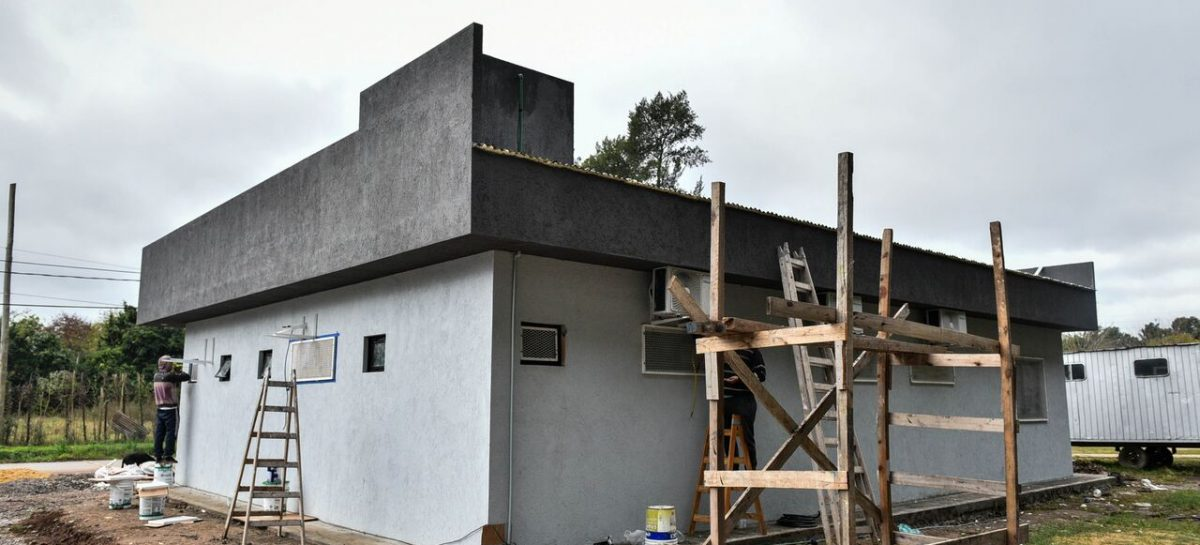 La Municipalidad de Escobar avanza con las obras del nuevo CAPS del barrio Philips