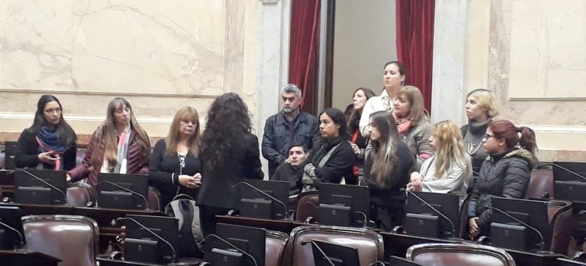 Alumnos del curso de Taquigrafía Parlamentaria dictado por personal técnico del HCD de Escobar, visitaron las instalaciones del Congreso Nacional