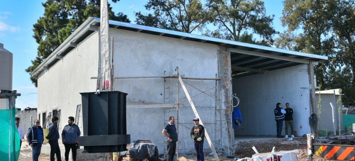 La Municipalidad avanza con la construcción de las nuevas salas velatorias en Belén de Escobar y Maquinista Savio