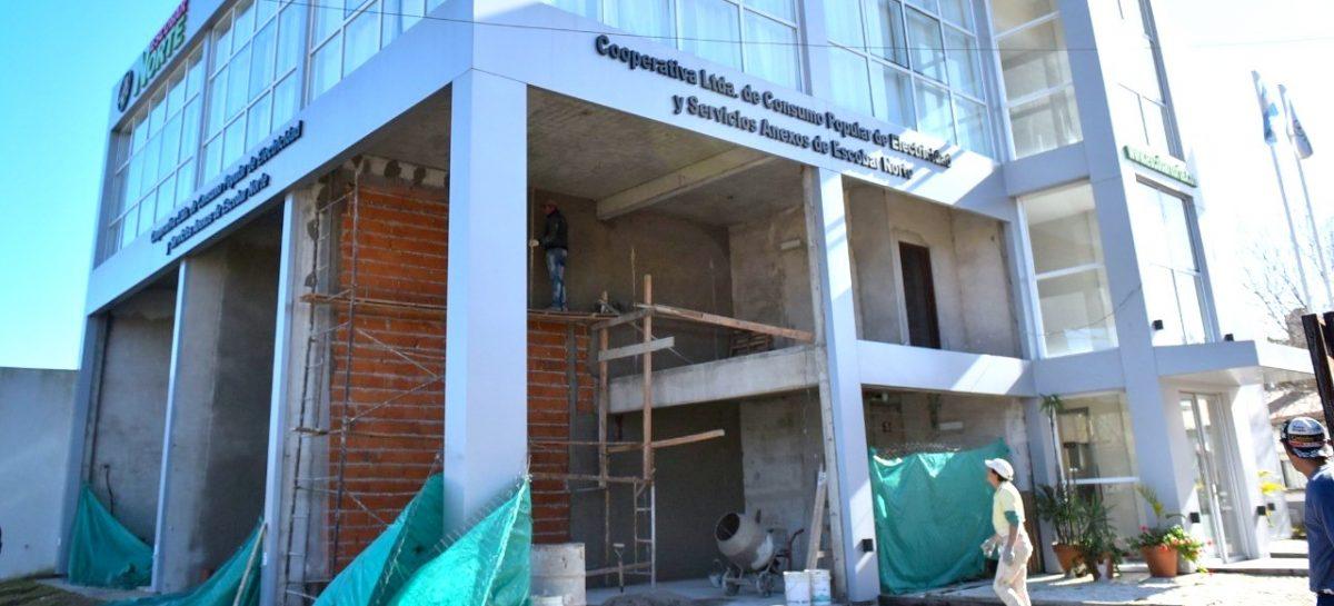 En Loma Verde, la Municipalidad de Escobar avanza con las obras de un centro de servicios de atención pública y bancaria