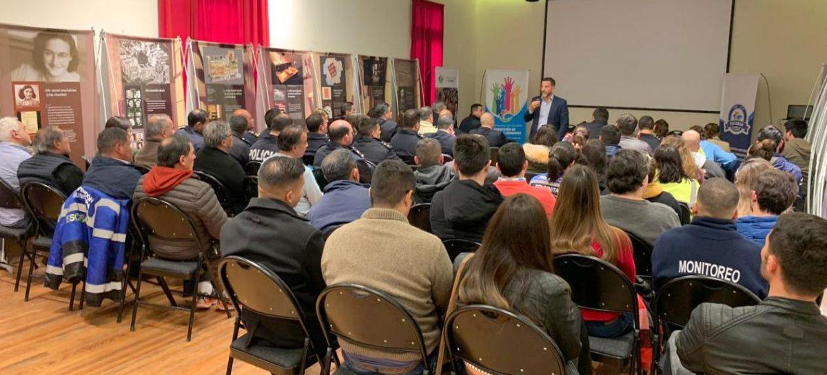 Agentes locales fueron capacitados por fiscales a partir de un convenio entre la Municipalidad y el Ministerio Público Fiscal de la Provincia de Buenos Aires
