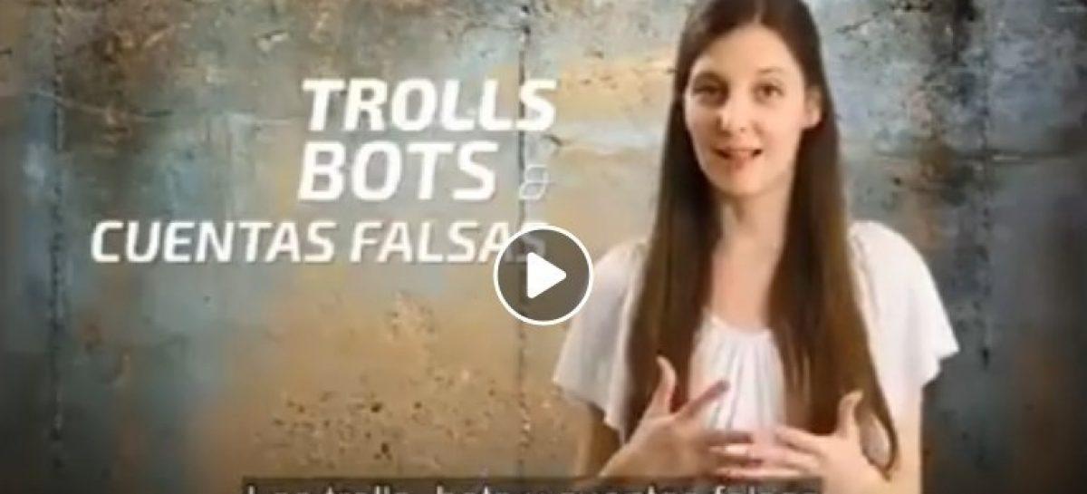 La Defensora del Pueblo de Escobar presentó un material de difusión sobre trolls, bots y cuentas falsas