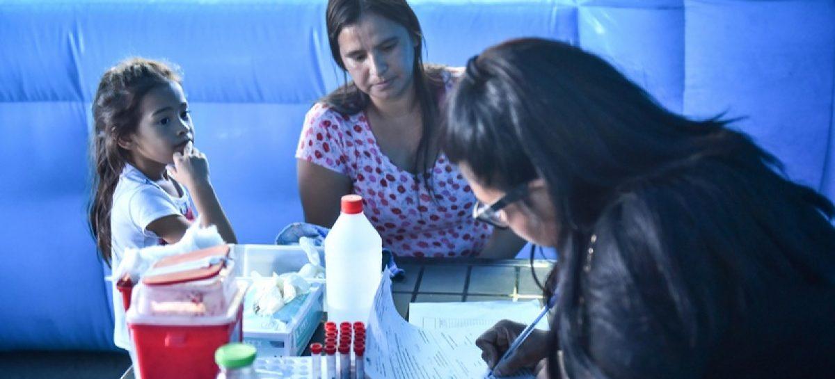 Los habituales operativos sanitarios llegan al barrio Doña Justa de Ingeniero Maschwitz