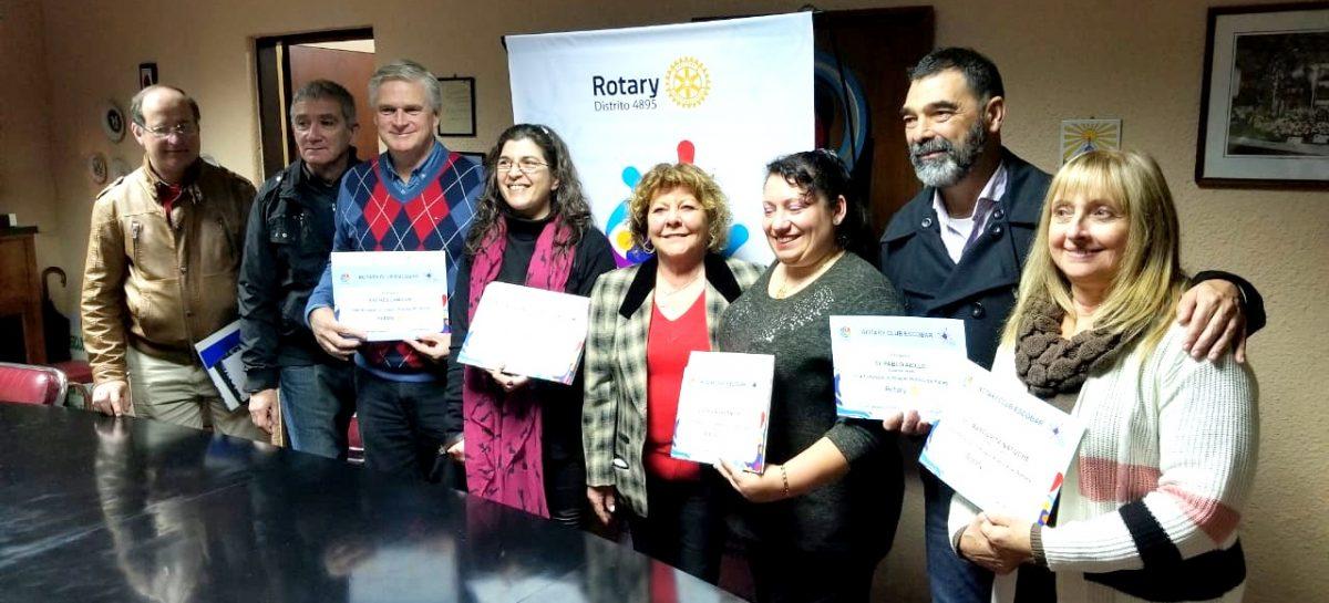 El Rotary Club de Escobar agasajó a destacados periodistas locales