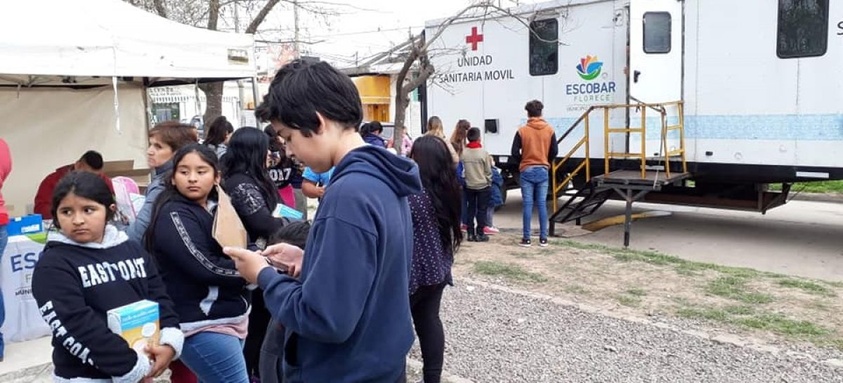 Operativos sanitarios del municipio en Belén de Escobar