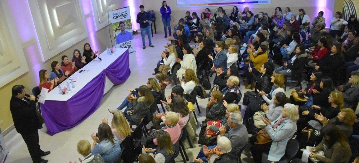 Juntos por el Cambio organizó un encuentro de mujeres en Escobar