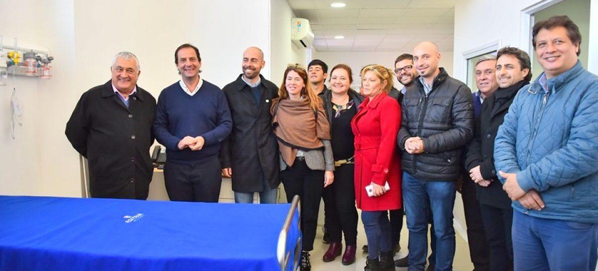 El intendente Ariel Sujarchuk recibió oficialmente la obra de ampliación de la UDP Savio financiada a través de la campaña solidaria del supermercado Coto