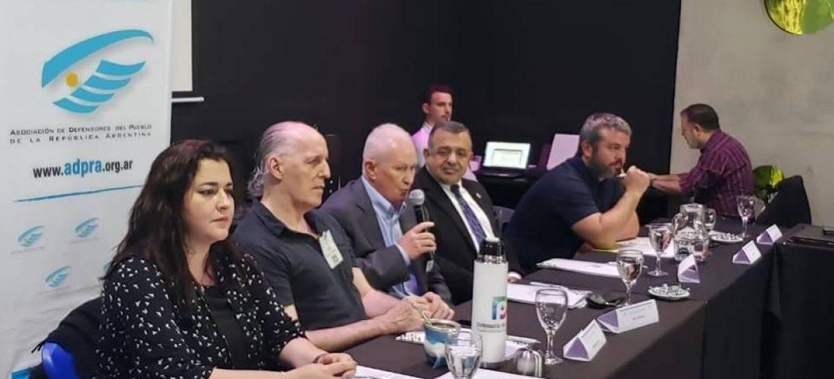 """Rocío Fernández participó del """"III Plenario Anual de la Asociación de Defensores del Pueblo de la República Argentina"""" en Rosario"""