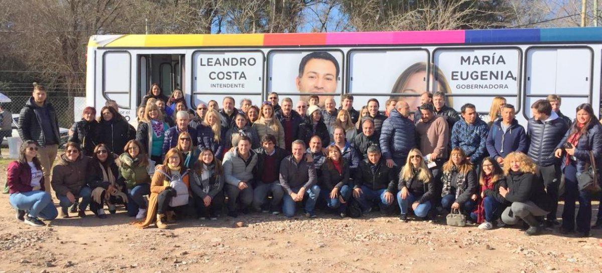 Leandro Costa y todo el equipo de la Gobernadora en Escobar salió a Timbrear por Maschwitz