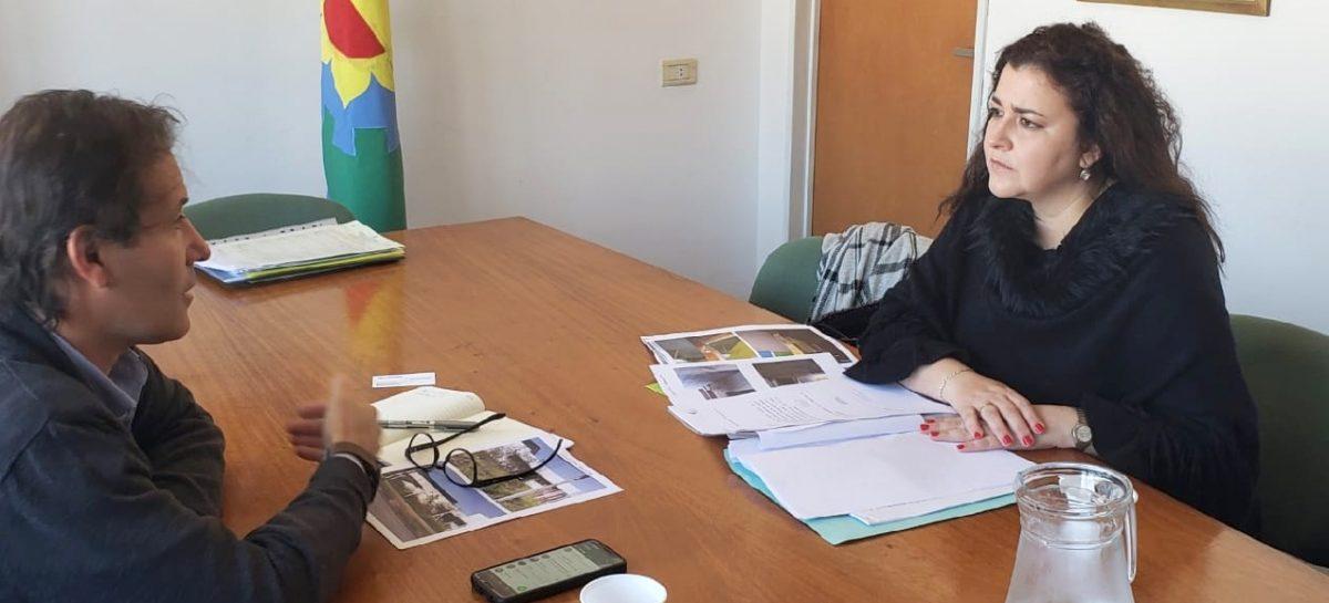 Rocio Fernández se reunió con el Viceministro de Educación por la Secundaria nro. 11 de Garín