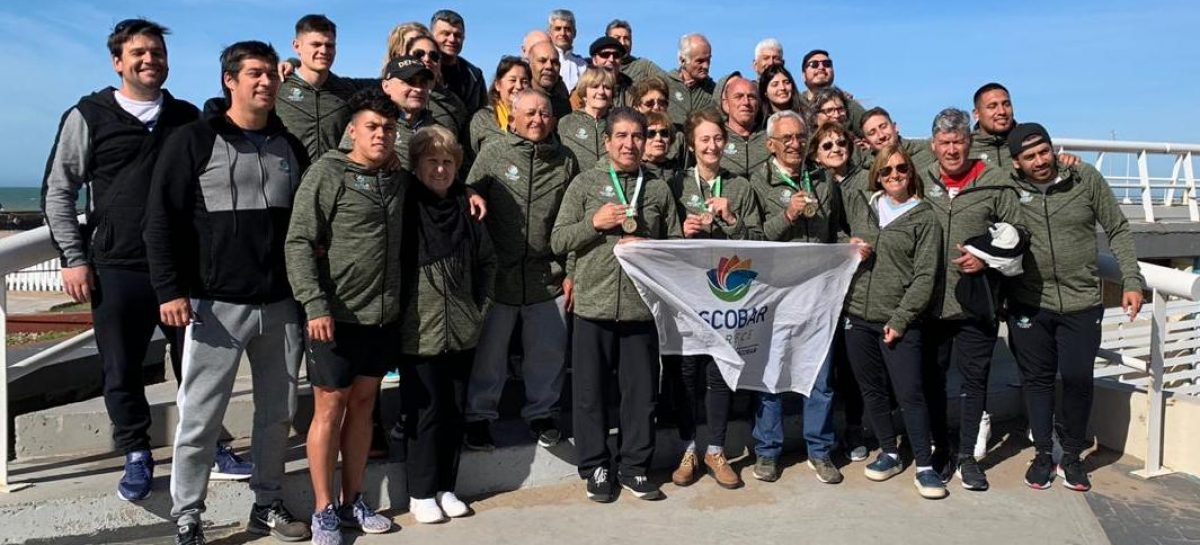 Los adultos mayores del distrito pusieron a Escobar en el tercer puesto del medallero de los Juegos Bonaerenses 2019