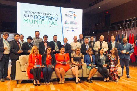 FLACMA distinguió a Escobar como el mejor municipio argentino en materia de innovación, gestión municipal y transparencia