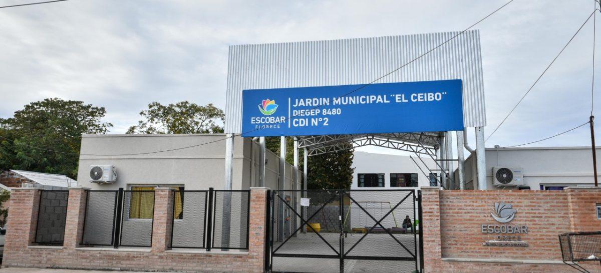 La Municipalidad de Escobar continúa las obras de infraestructura en los Centros de Desarrollo Infantil del distrito