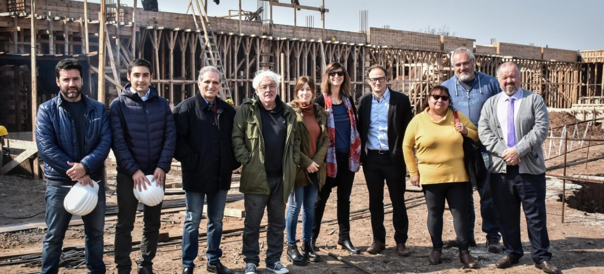 El Consejo Superior Académico del colegio Cereijo visitó la obra de la futura sede en Belén de Escobar