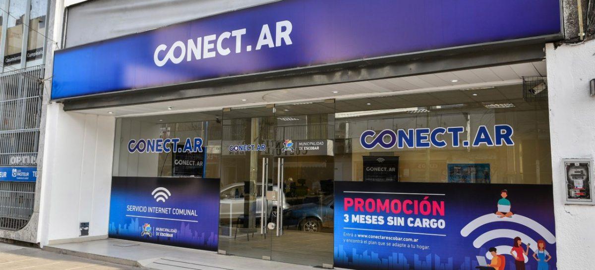 Unas 400 familias se adhirieron al servicio comunal de internet, TV y telefonía que brinda la Municipalidad de Escobar