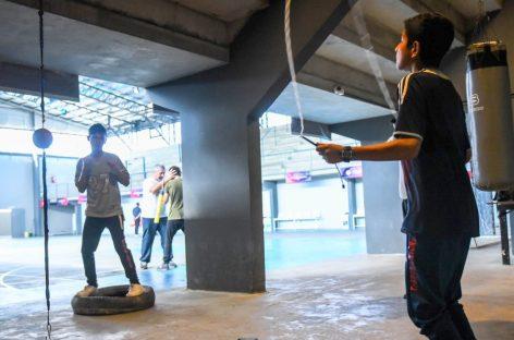 El nuevo microestadio de Garín ya suma más de 30 disciplinas deportivas y recreativas para los vecinos del partido de Escobar