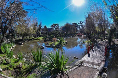 La Municipalidad realiza reformas en el Jardín Japonés de Belén de Escobar
