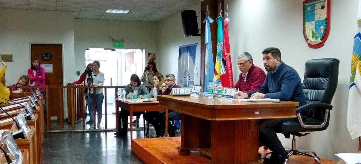 Presidida por el concejal Pablo Ramos, se llevó a cabo la Décima Cuarta Sesión Ordinaria del Concejo Deliberante de Escobar