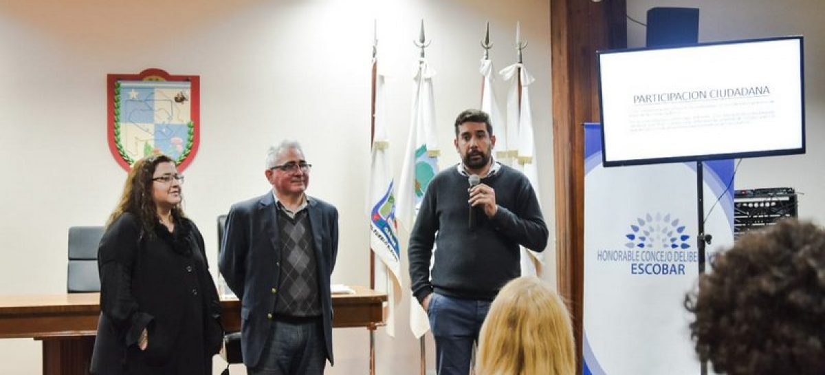 HCD Escobar: nuevo taller a cargo del Instituto Nacional de Capacitación Política (INCaP)