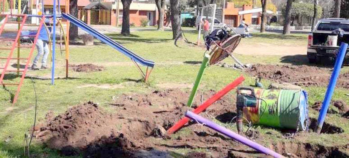 Avanzan las obras del Presupuesto Participativo en Garín, Matheu y Belén de Escobar