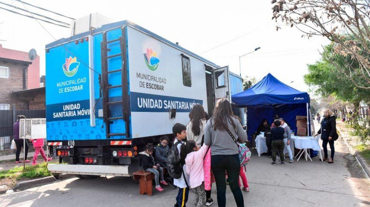 Los habituales operativos sanitarios de la Municipalidad de Escobar se realizarán esta semana en Garín