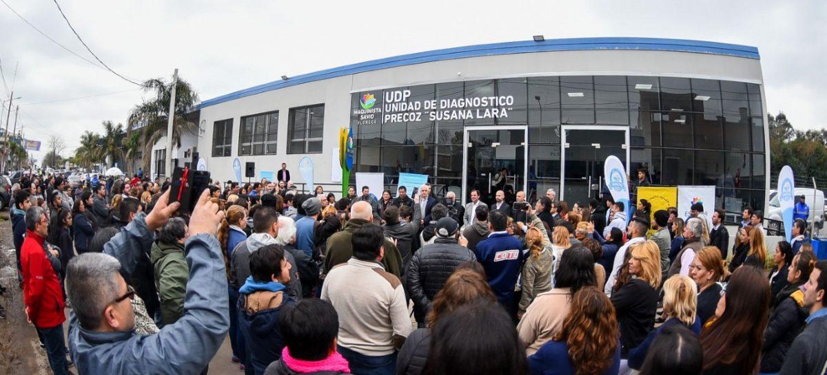 En Maquinista Savio quedó inaugurada la obra de ampliación de la Unidad de Diagnóstico Precoz Doctora Susana Lara