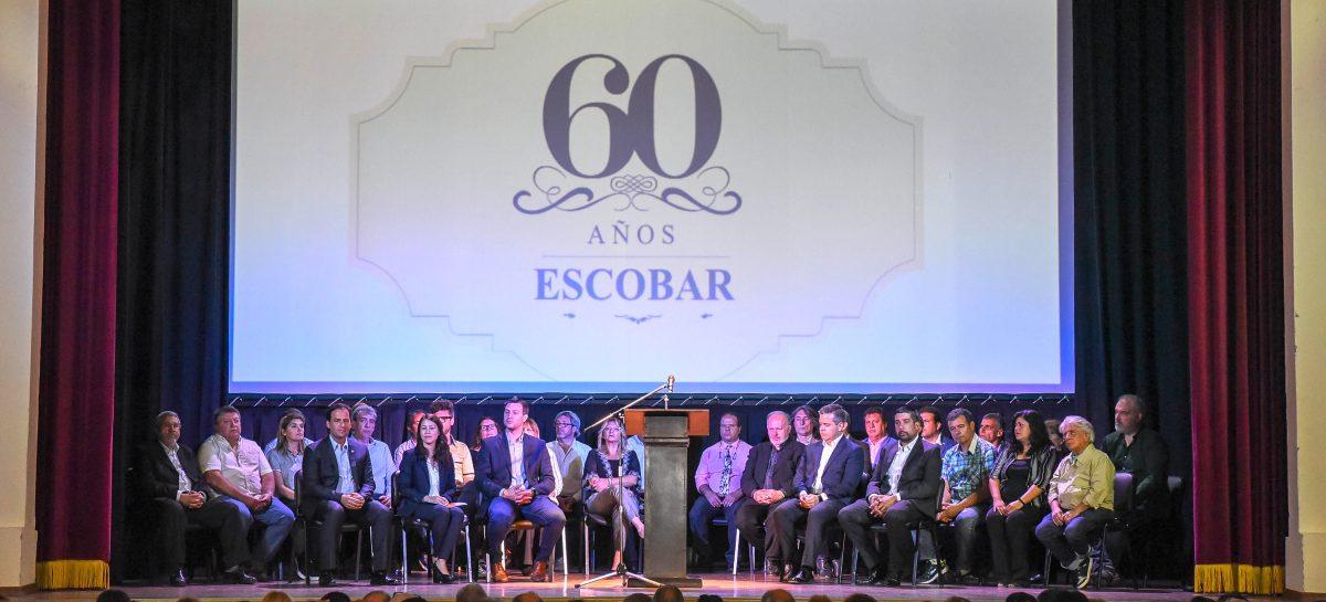 El partido de Escobar celebra su 60º aniversario con música, cultura y actividades recreativas para toda la familia