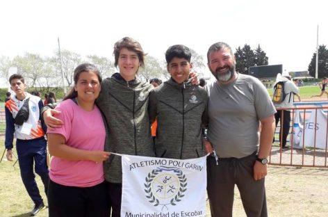 Siete deportistas de Escobar obtuvieron medallas en los Juegos Evita 2019