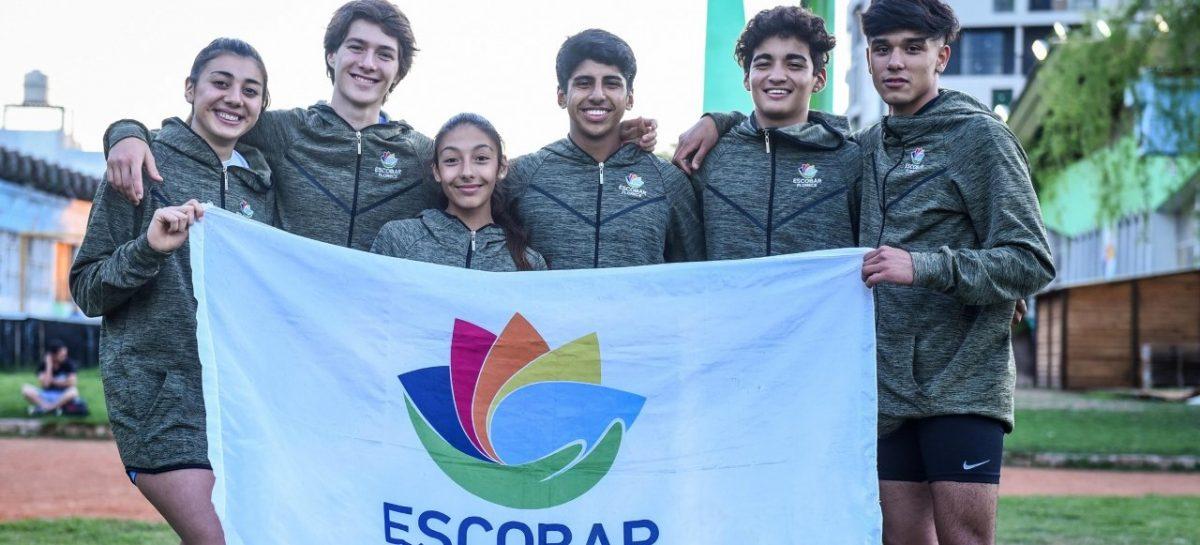 Por sus buenas actuaciones, seis atletas escobarenses fueron convocados al Campeonato Nacional de Atletismo en Córdoba