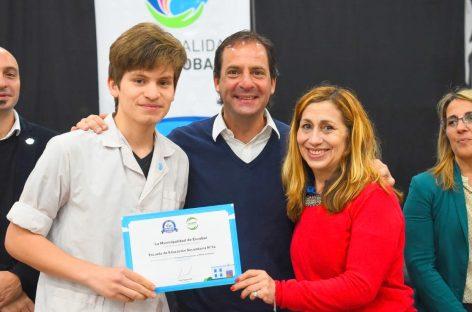 Escobar Sustentable: se entregaron los premios a las instituciones ganadoras del concurso Escuelas por el Medio Ambiente
