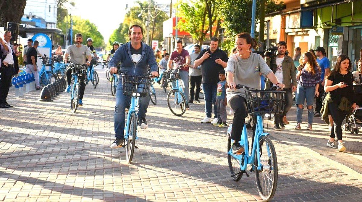 La Municipalidad de Escobar amplía el programa Las Bicis y ahora suma 34 estaciones terminales y 200 bicicletas en Belén, Garín y Maschwitz