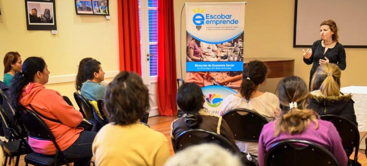 Escobar Emprende: continúan con los cursos de capacitación para emprendedores locales