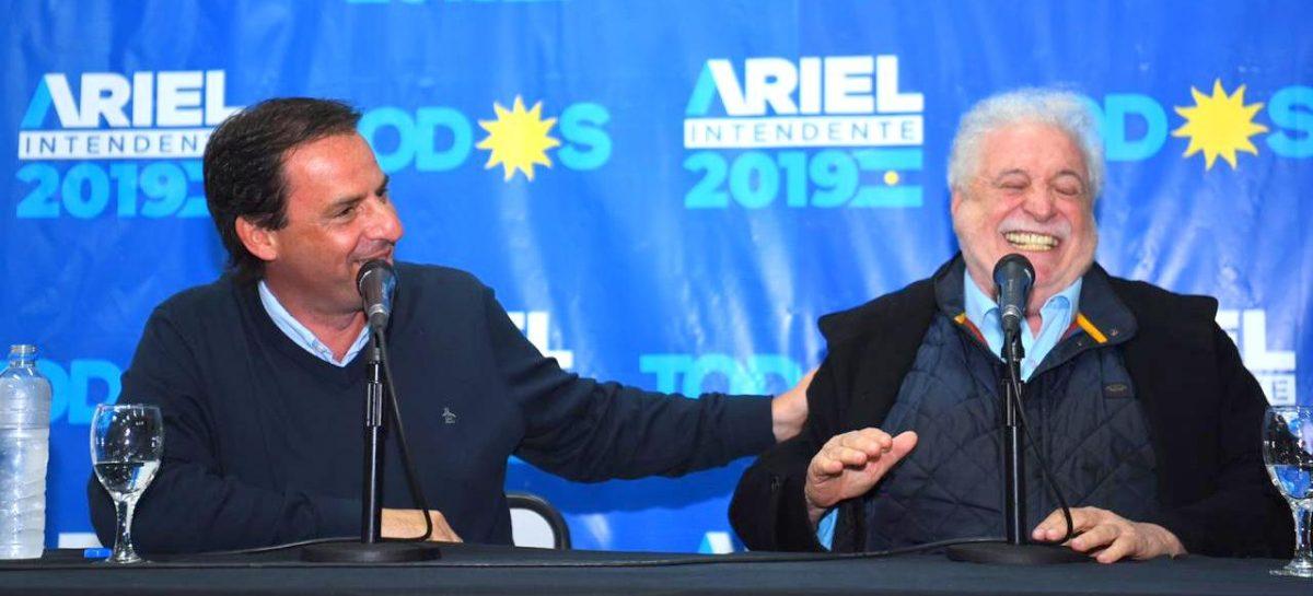Ariel Sujarchuk y Ginés González García recorrieron el Polo Sanitario Matheu y brindaron una charla en el PES de Escobar