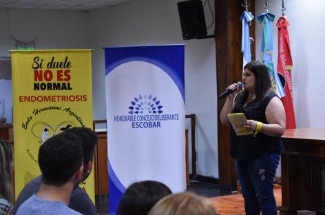 Encuentro en el HCD de Escobar a los fines de concientizar y visibilizar la endometriosis