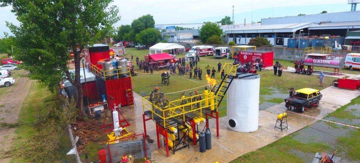 Se realizó en Bomberos Voluntarios de Garín el 13º curso internacional del 911, que contó con 250 bomberos de 5 países