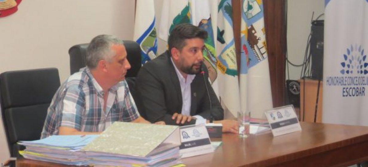 Los concejales que terminan su mandato, se despidieron en la última sesión ordinaria del HCD de Escobar