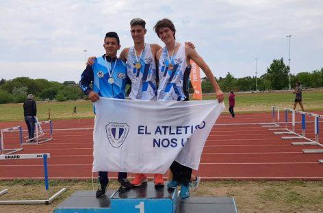 Deportistas escobarenses se destacaron en el Campeonato Nacional de Atletismo