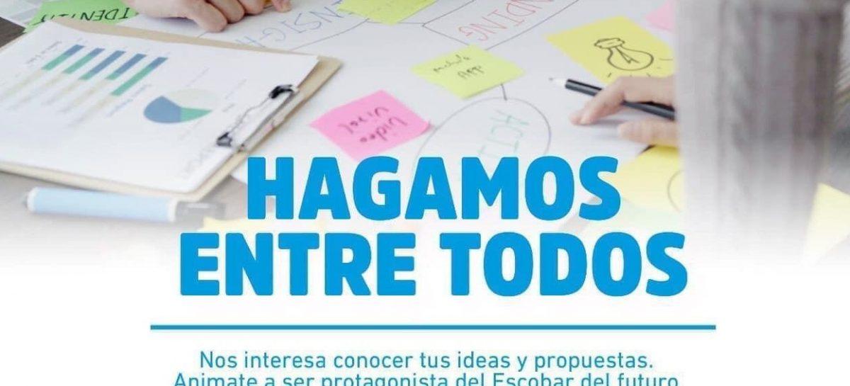 Hagamos Entre Todos: ya se presentaron 557 proyectos en la plataforma municipal que tiene como objetivo pensar el Escobar del futuro