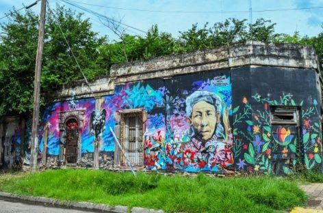 Programa Murales Urbanos: artistas locales realizaron una nueva obra callejera en Belén de Escobar