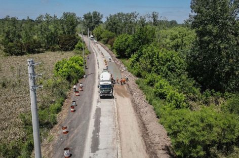 La Municipalidad de Escobar reparó más de 15 mil metros cuadrados de calzada camino al Paraná