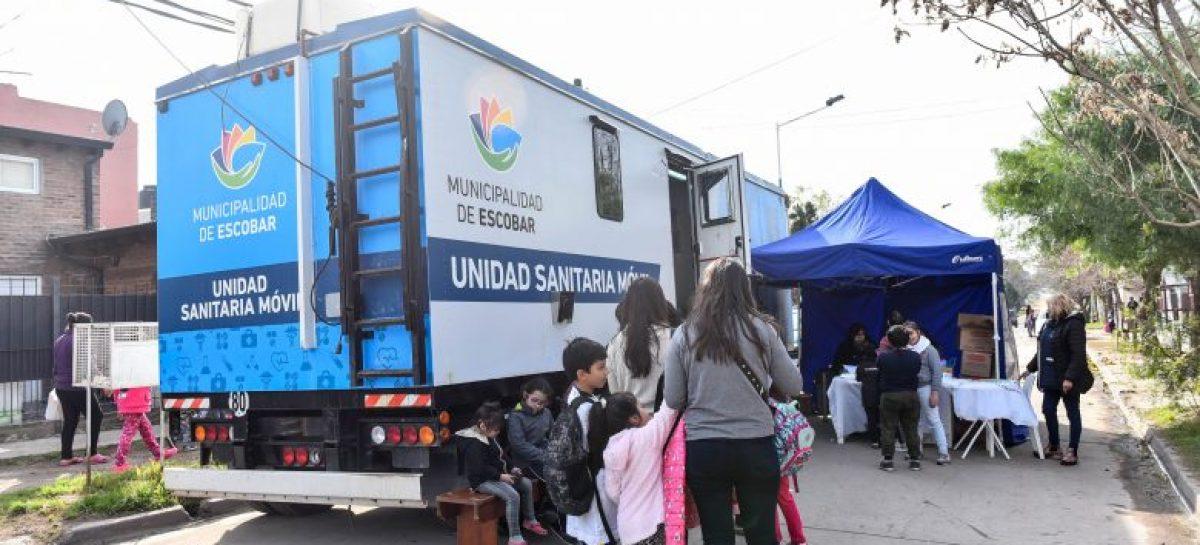 En dos barrios de Matheu, la Municipalidad continuará los operativos sanitarios