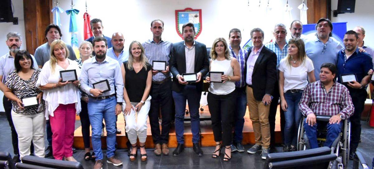 Acto de reconocimiento a concejales mandato 2015 – 2019 y autoridades del HCD de Escobar