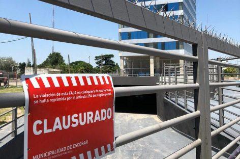 La Municipalidad clausuró un edificio en construcción por la caída de un ascensor que provocó cinco heridos