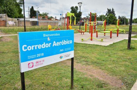 Presupuesto Participativo: la Municipalidad de Escobar avanza con obras de espacio público en Matheu, Maquinista Savio y Garín