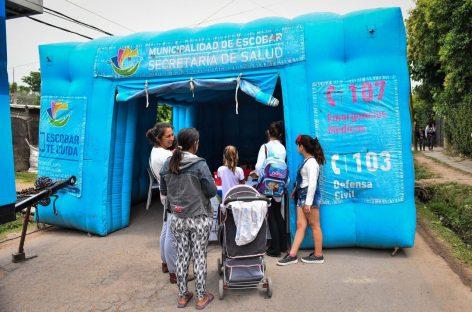 Los operativos sanitarios municipales se realizarán en los barrios Cri Cri y La Esperanza de Garín