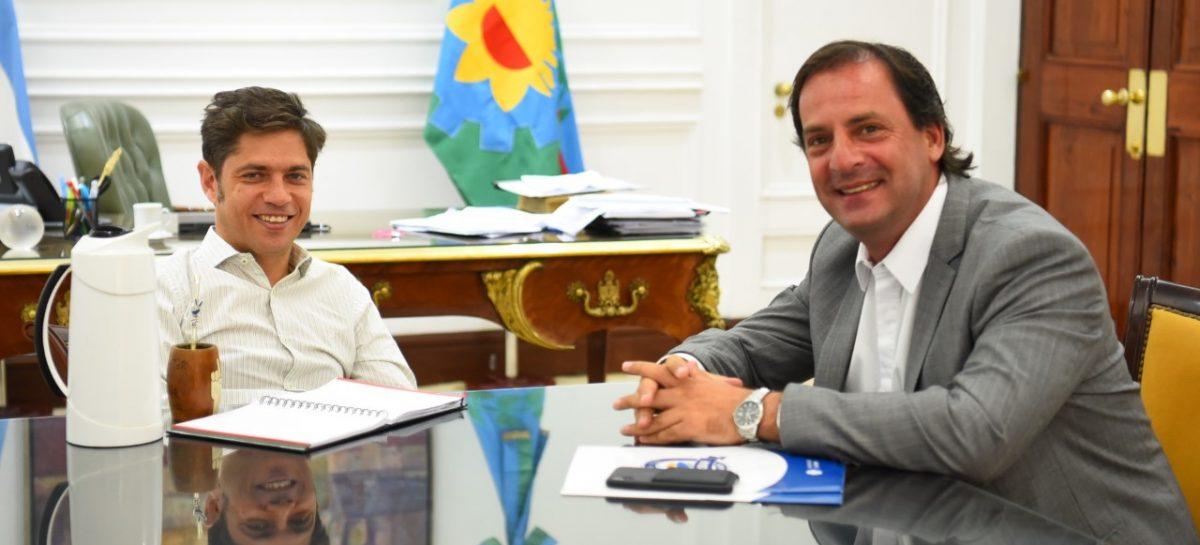 Sujarchuk y Kicillof se reunieron para planificar políticas conjuntas entre la Provincia y el Municipio