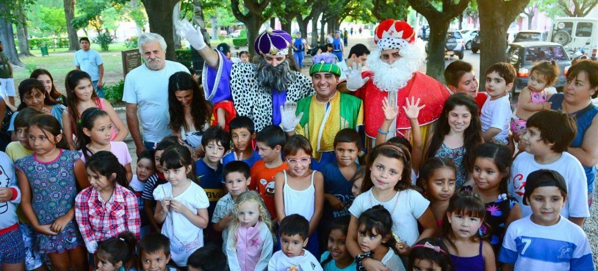 Este domingo llegan los Reyes Magos a todas las localidades del partido de Escobar