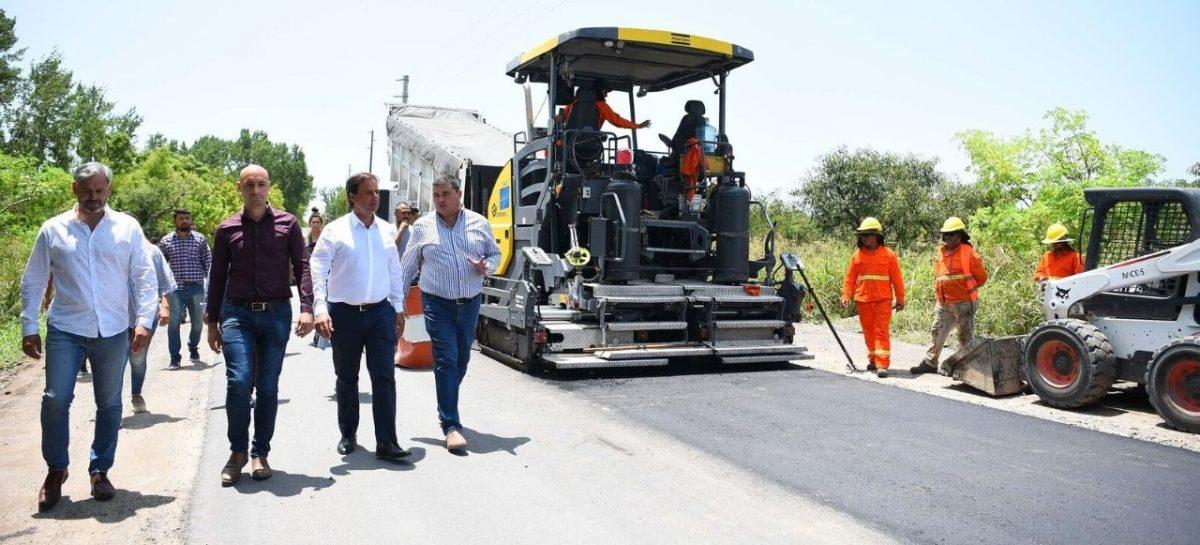 Ruta Provincial 25: el intendente Ariel Sujarchuk supervisó obras en el tramo que llega  al Paraná de las Palmas
